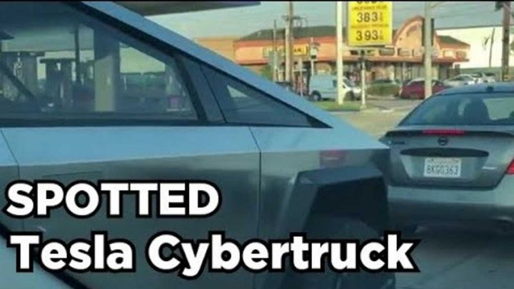 New Video Captures Extreme Close-Ups Of Tesla Cybertruck On The Road