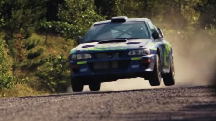Watch Three Generations of McRae Thrash Colin's 1997 Subaru Impreza WRC