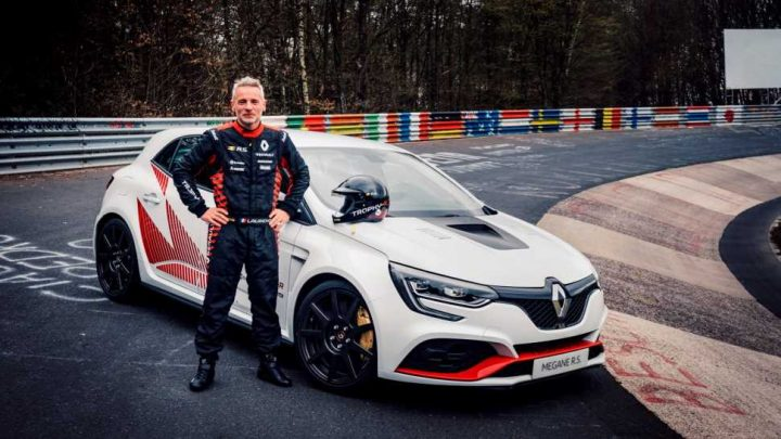 Watch the Renault Mégane R.S. Trophy-R Set a New FWD Record at the Nürburgring
