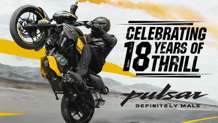 Bajaj Pulsar Celebrates 18th Anniversary As Sales Cross 1.2 Crore Units
