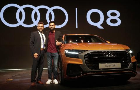 Audi Q8 launched at Rs. 1.33 crore