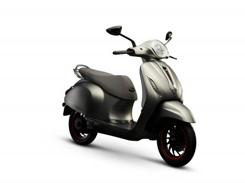 Bajaj Chetak electric scooter launched at Rs. 1 lakh