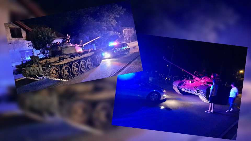 Drunk Man Joyrides Through Town in WWII Military Tank, Immediately Gets Arrested