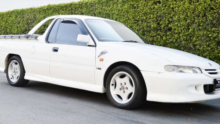 Fulfil Your Wildest Ute Dreams With This Imported Holden Commodore