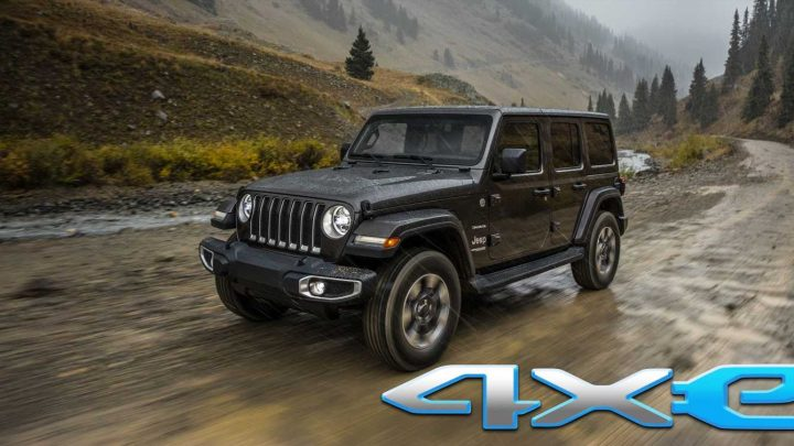 Jeep Wrangler, Renegade, Compass Plug-In Hybrids Will Be Called 4xe
