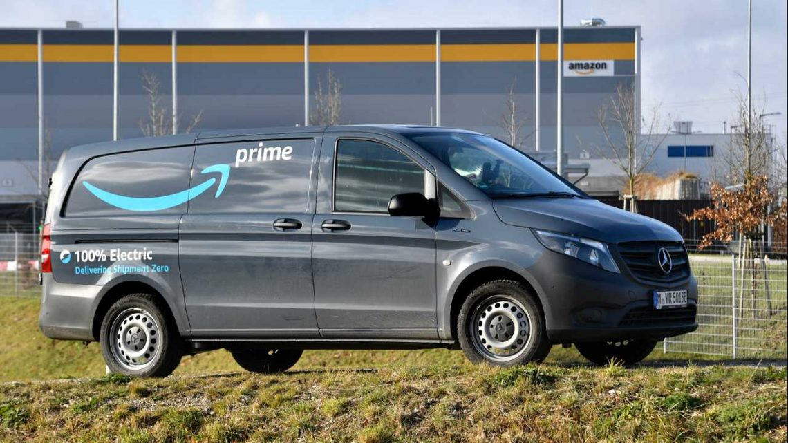 Amazon Adds Mercedes And StreetScooter EVs To Its Fleet In Germany