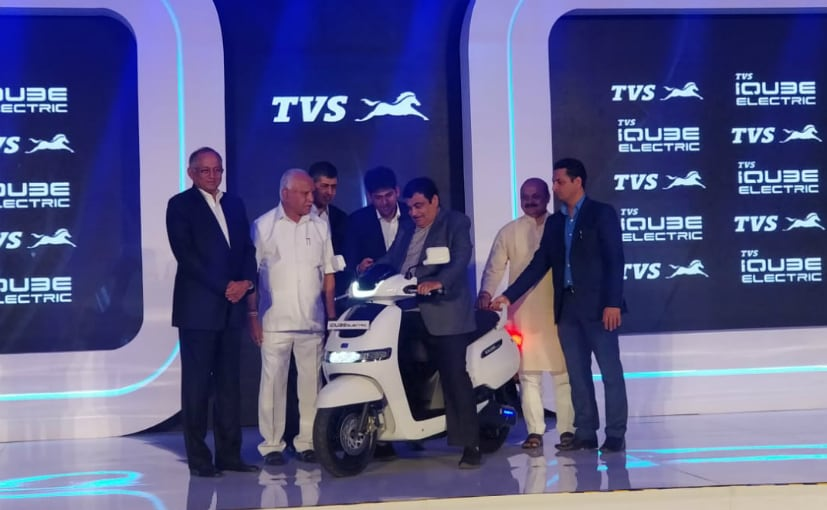 TVS iQube Electric Scooter Launched In India; Prices Start At &#8377 1.15 Lakh