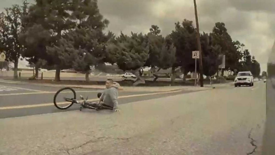 TeslaCam To The Rescue Again: Hit-And-Run Bicycle Accident Recorded