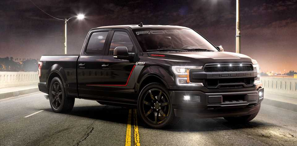 650-HP Ford F-150 Nitemare by Roush Is the 'World's Quickest Production Truck'
