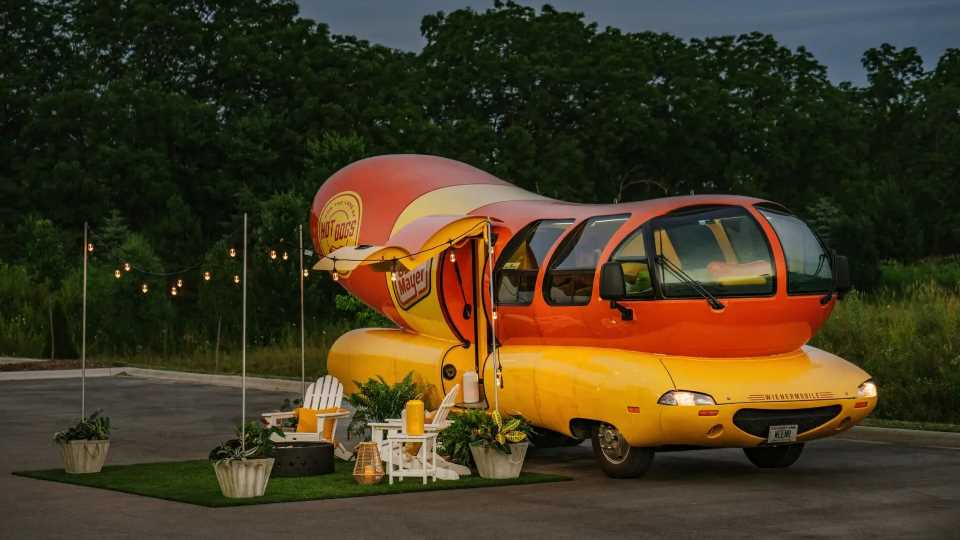 Live Like A Hot Dog King For A Day, Oscar Mayer Lists Its Wienermobile on Airbnb