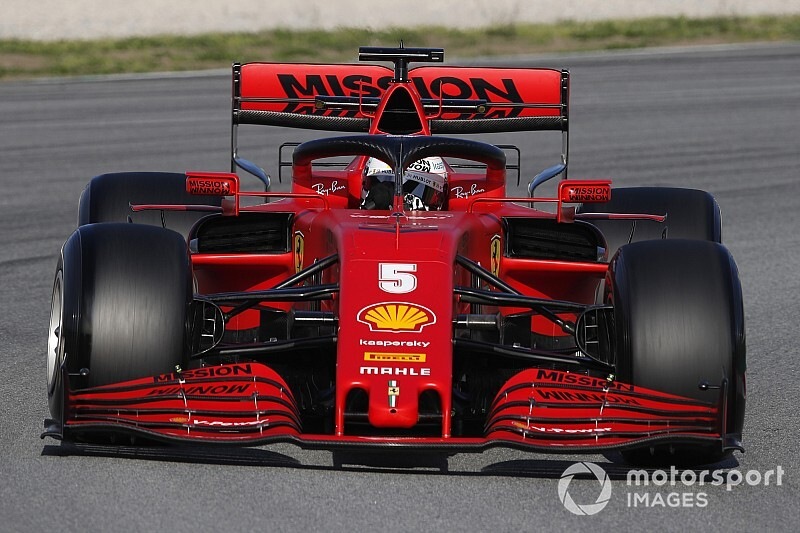Latest tech updates from F1 test as new Ferrari wing appears