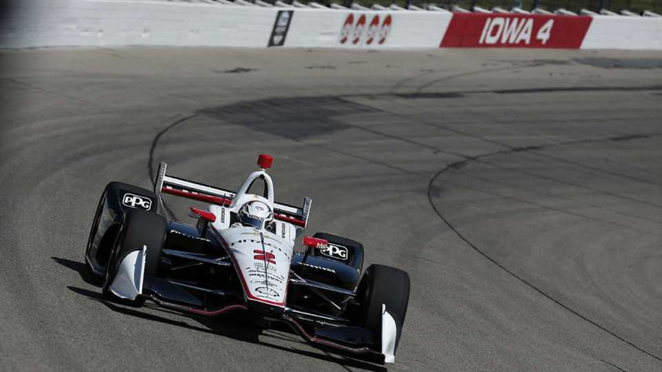 Josef Newgarden Extends IndyCar Championship Lead With Late-Night Iowa Victory