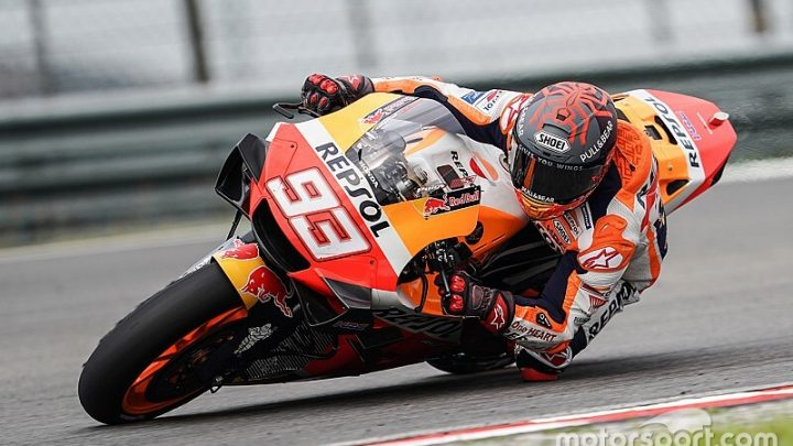 Marquez 'more worried' by bike than by fitness