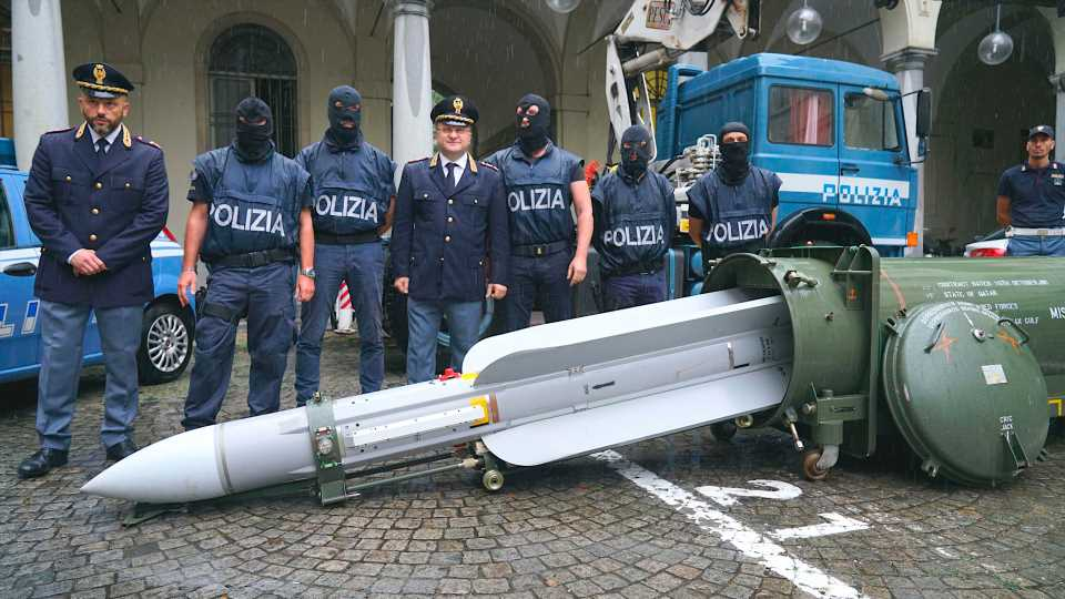 Italian Cops Raid Neo-Fascists And Find Air-To-Air Missile That France Had Sold To Qatar