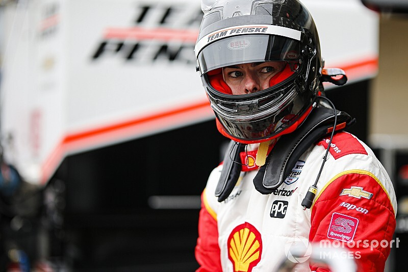 'I loved it!' says McLaughlin after first IndyCar oval test