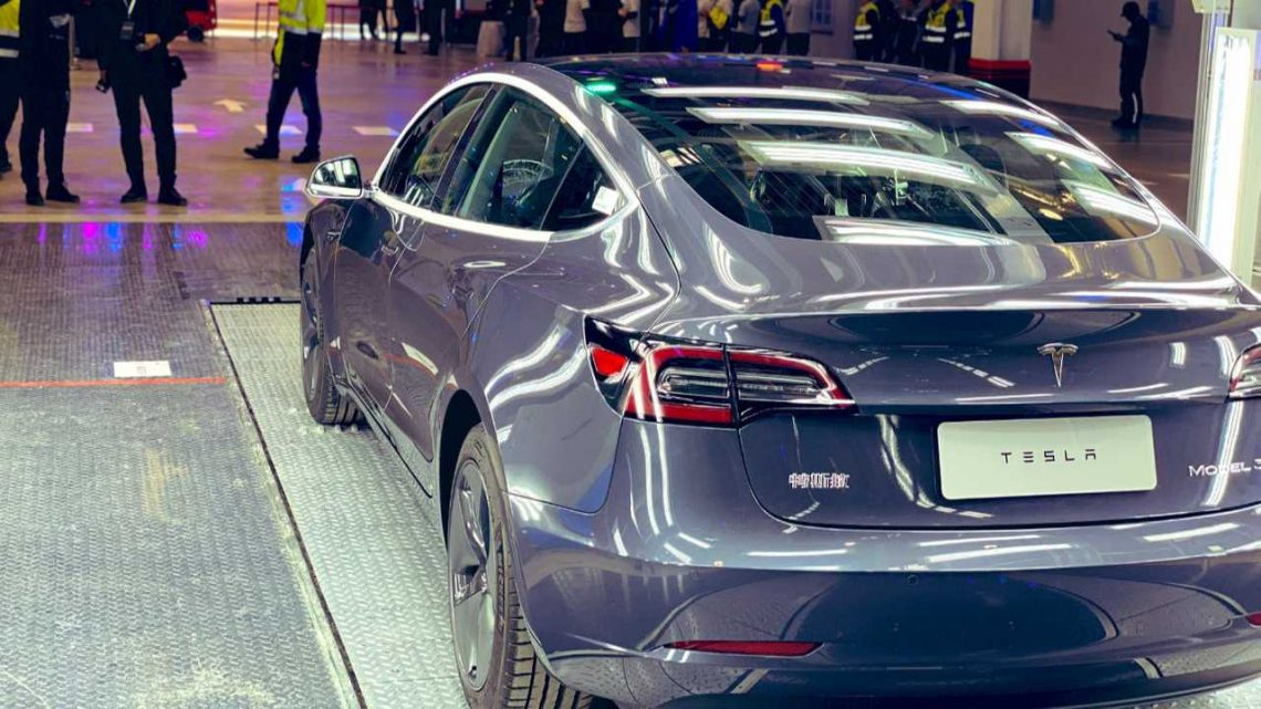 Long Range RWD Tesla Model 3 To Be Built In China