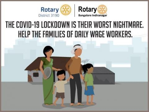 Make a donation to feed the daily wage worker