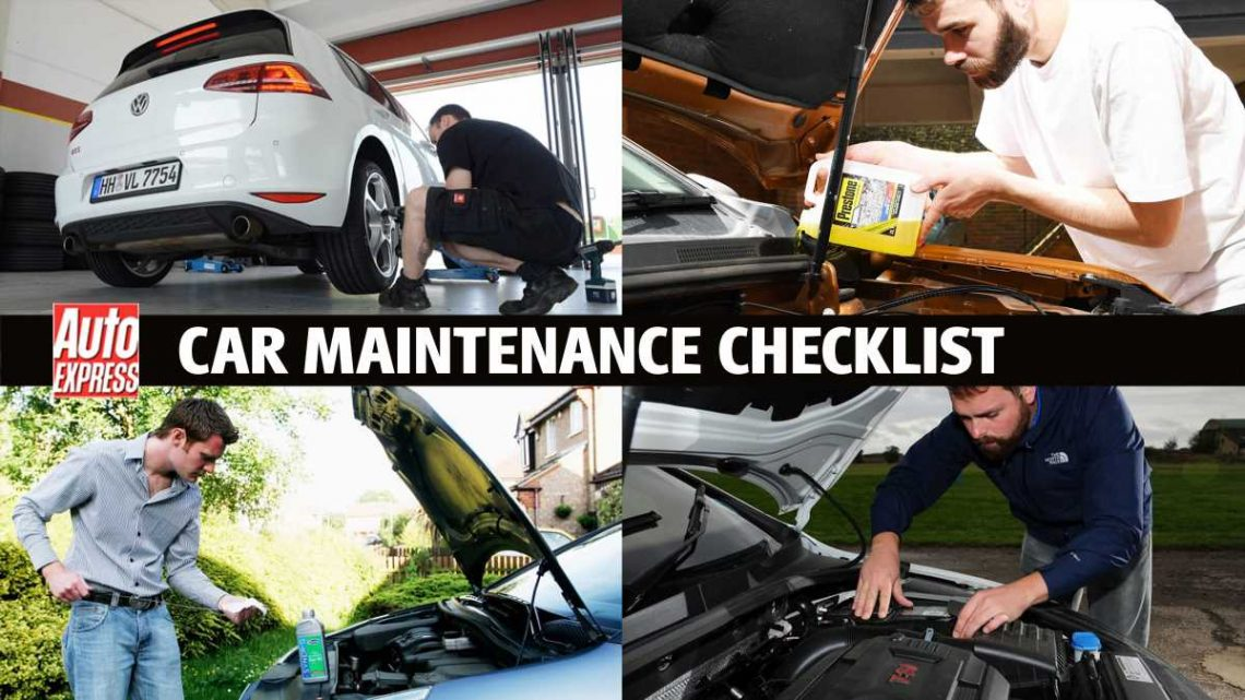 Car maintenance checklist: look after your car in 8 DIY steps