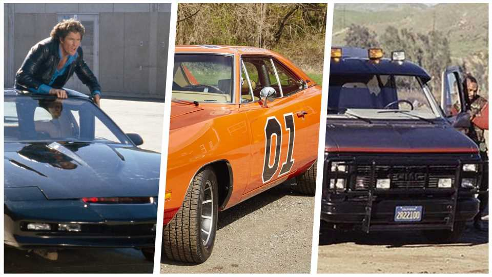 What's the Greatest Ever TV Car? Have Your Say in Our World Cup of TV Cars!