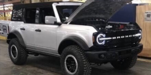 2021 Ford Bronco Shown Completely Undisguised in Leaked Photos