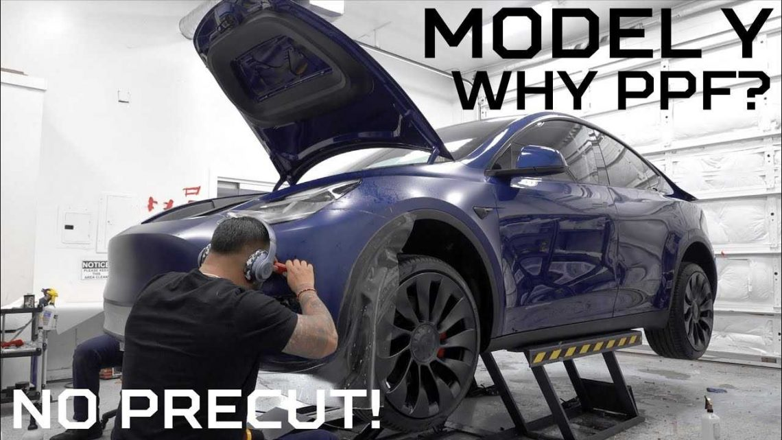 Tesla Model Y: Why You Should Consider Paint Protection Film