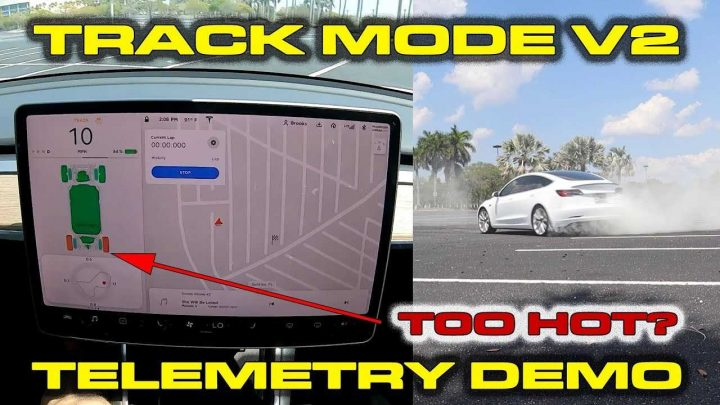 Tesla Model 3 Performance Extensive Track Mode V2 Test & Review