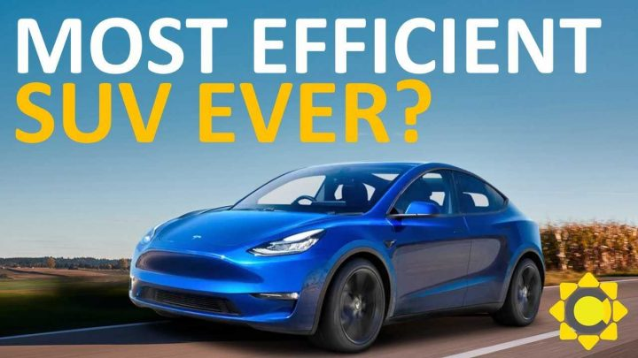 Is The Tesla Model Y The Most Efficient SUV Ever Produced?