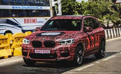 BMW X3 M SUV Spotted Testing In India; Likely To Launch By Second Half