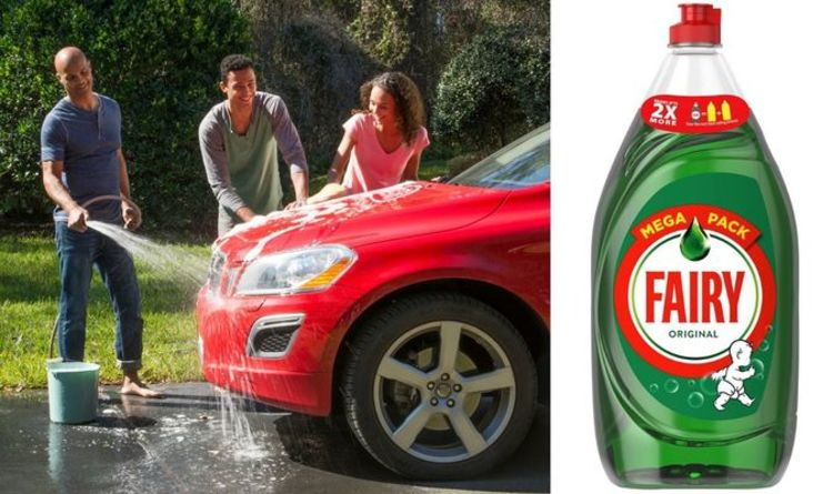 Car wash: Can you wash your car with washing up liquid?