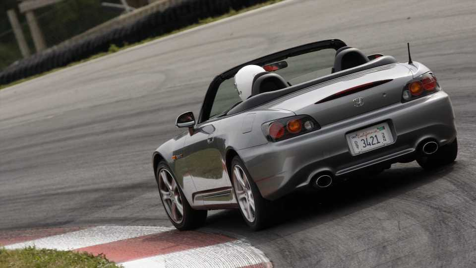 See-Through Honda S2000 Surfaces at Owner's Meeting in Japan