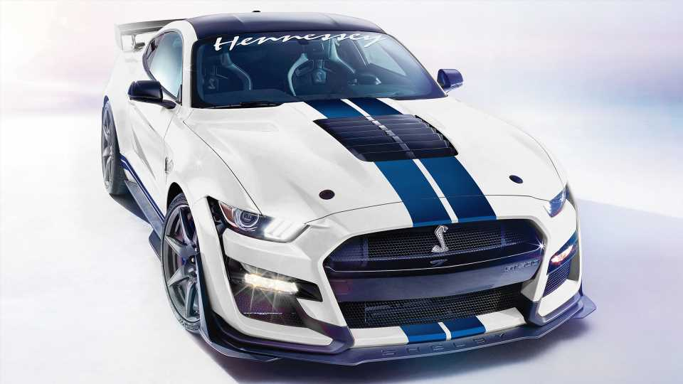 Hennessey Upgrade Bumps 2020 Ford Mustang Shelby GT500 to Colossal 1,200-HP Mark