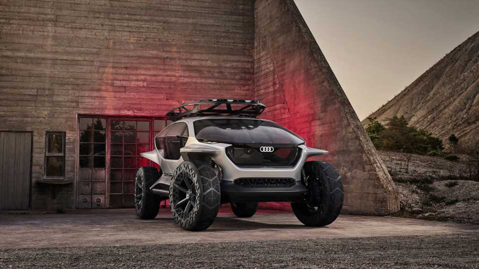 Audi AI:Trail Quattro Concept Is the Eccentric Off-Roader of the Future