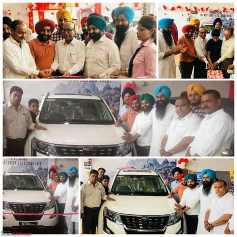 BS6 Mahindra XUV500 reaches dealership