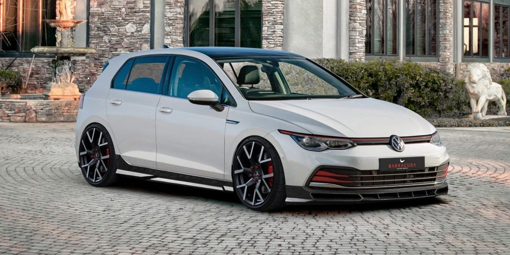 European Tuner Previews Golf 8 Tuning Package