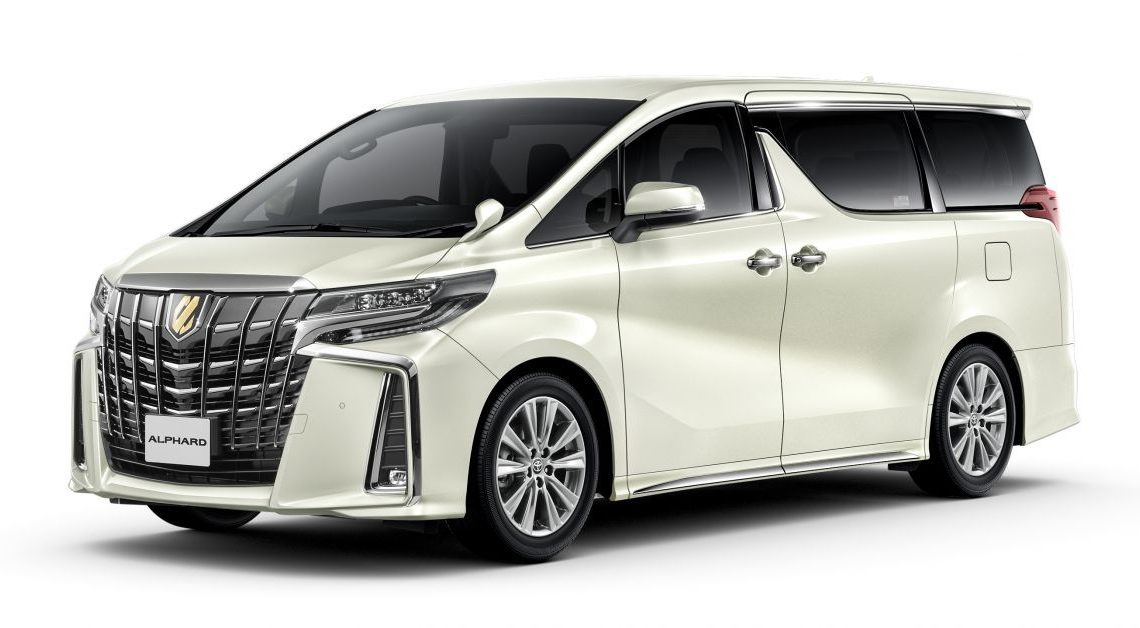 Toyota unveils Alphard Type Gold, Vellfire Golden Eyes – special edition MPVs with unique trim, gold accents