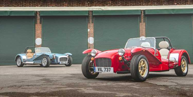 The New Caterham Super Seven 1600 Is the Best Kind of Throwback