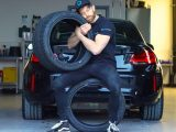 Here's How You Care For Tyres On A Parked-Up Car