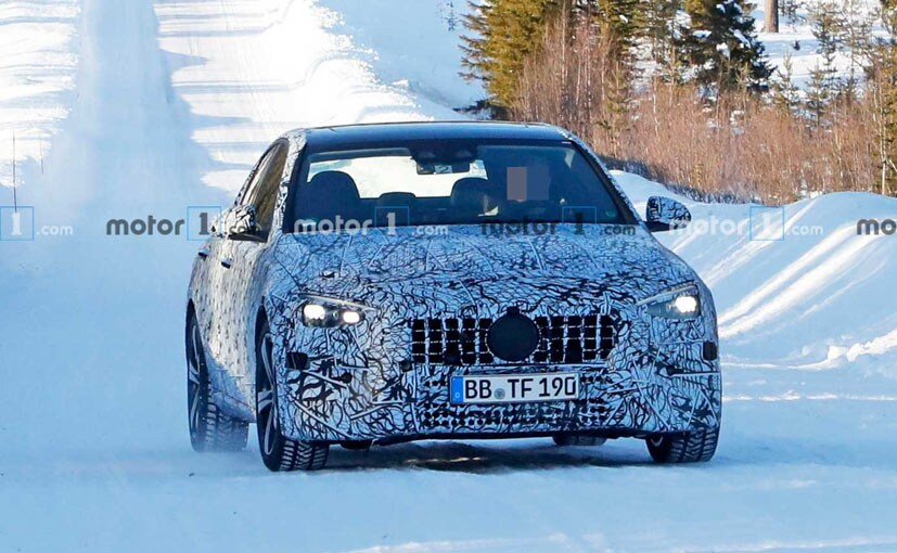 2021 Mercedes-Benz C-Class Spotted Testing