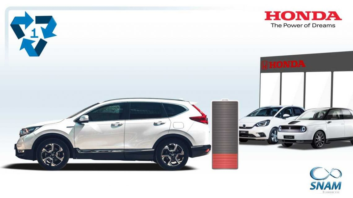 Honda's xEV Batteries In Europe To Be Recycled By SNAM