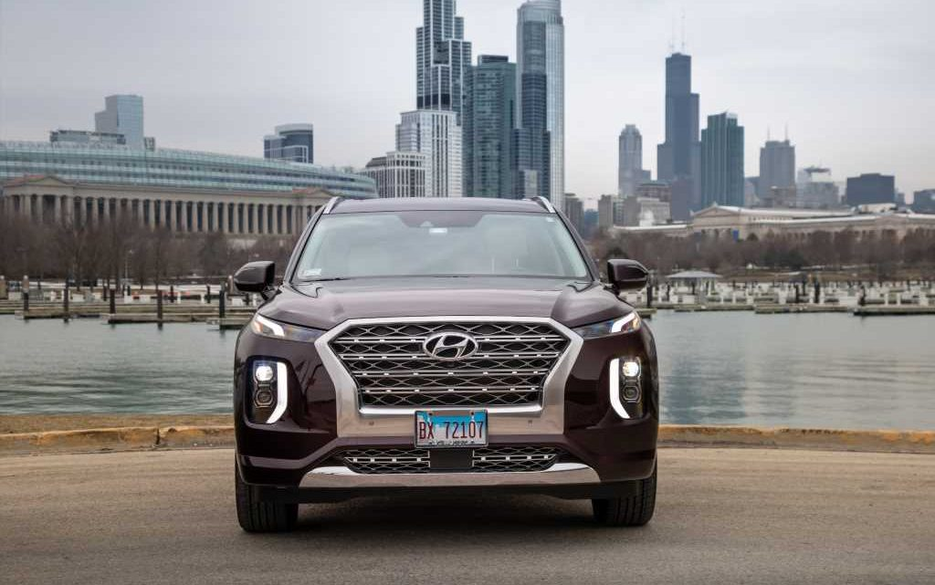 2020 Hyundai Palisade Earns 5-Star Crash-Test Score From Feds
