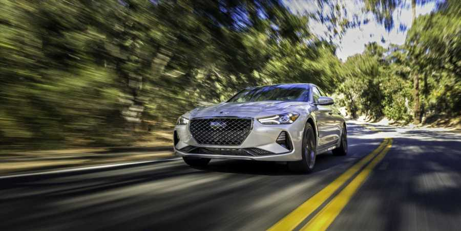 The 2020 Genesis G70 RWD 2.0T Sport Is More Than Competitive in a Stout Field