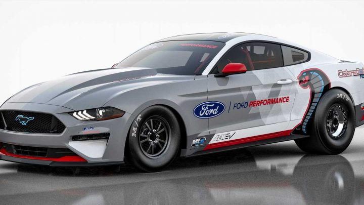 The Ford Mustang Cobra Jet 1400 Is a One-Off All-Electric Drag Machine