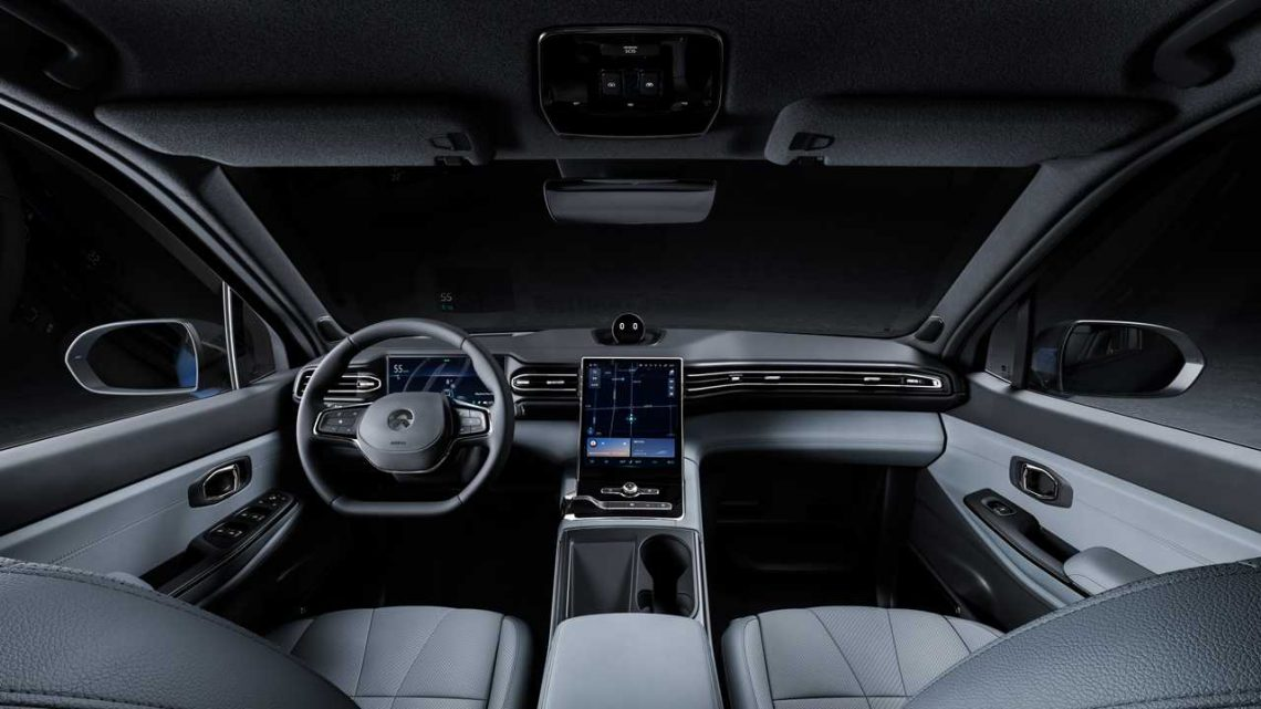 NIO Introduces Navigation On Pilot And Revamped Parking Assist