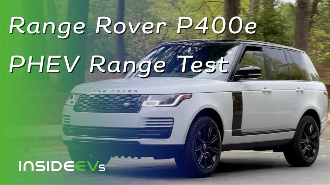 Does Electrification Make The Range Rover P400e The Best 4×4?