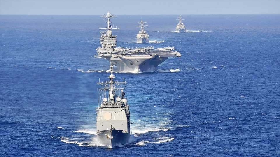 Navy Carrier Group Sets Sail Without Its Carrier As Maintenance Troubles Plague Force