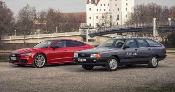 That Time Audi Made A Hybrid Inline-Five 100 Avant