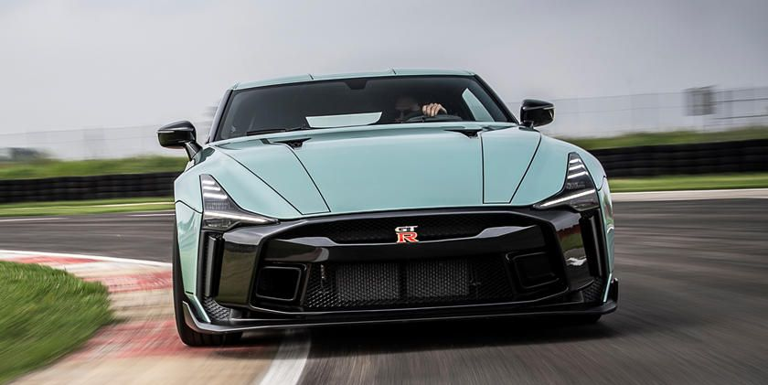 Nissan and Italdesign Officially Unveil the $1.1 Million GT-R50