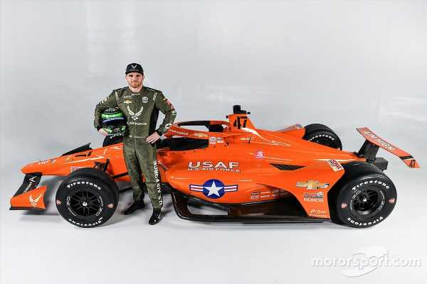 Daly's Indy 500 ride pays tribute to icon Chuck Yeager's Bell X-1