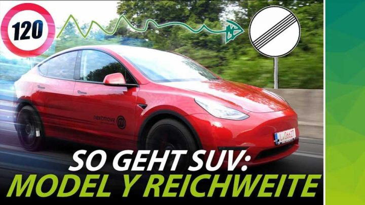 Watch This Tesla Model Y Go On Autobahn Range Test In Germany