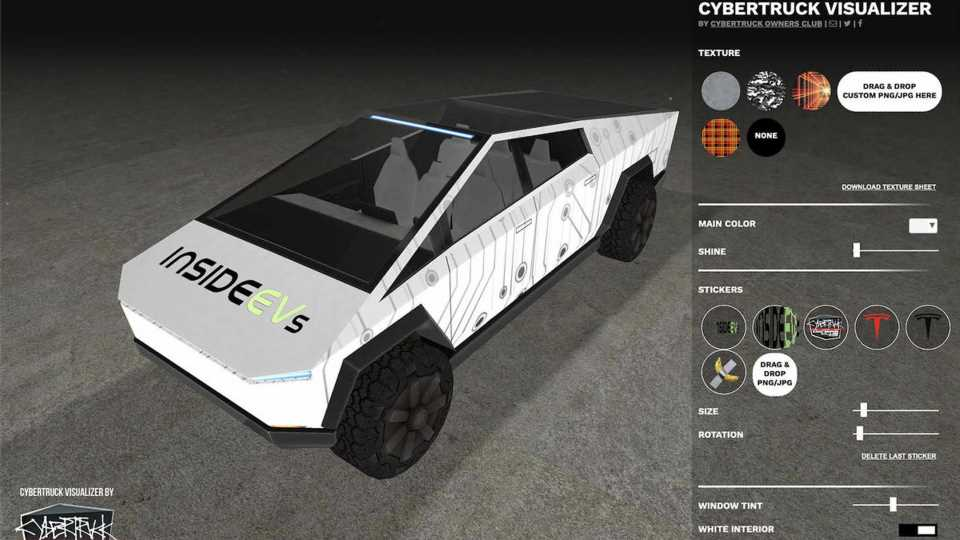 This Tesla Cybertruck Design Visualizer Is Fun And Useful